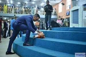 Photos: Nigerian Pastor Brings Dead Baby Back To Life In His Church